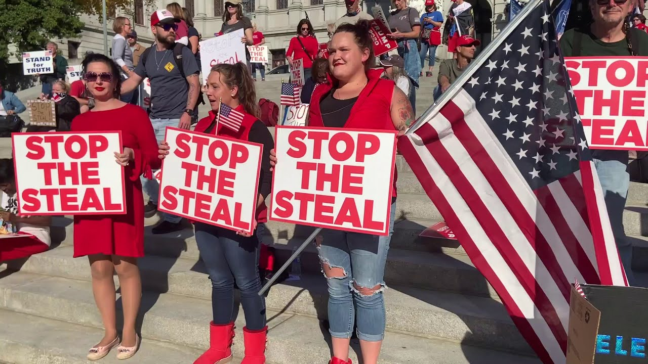 Image result for Trump Won Stop the steal pinterest