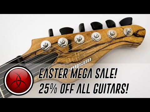 CRIMSON EASTER MEGA GUITAR SALE!