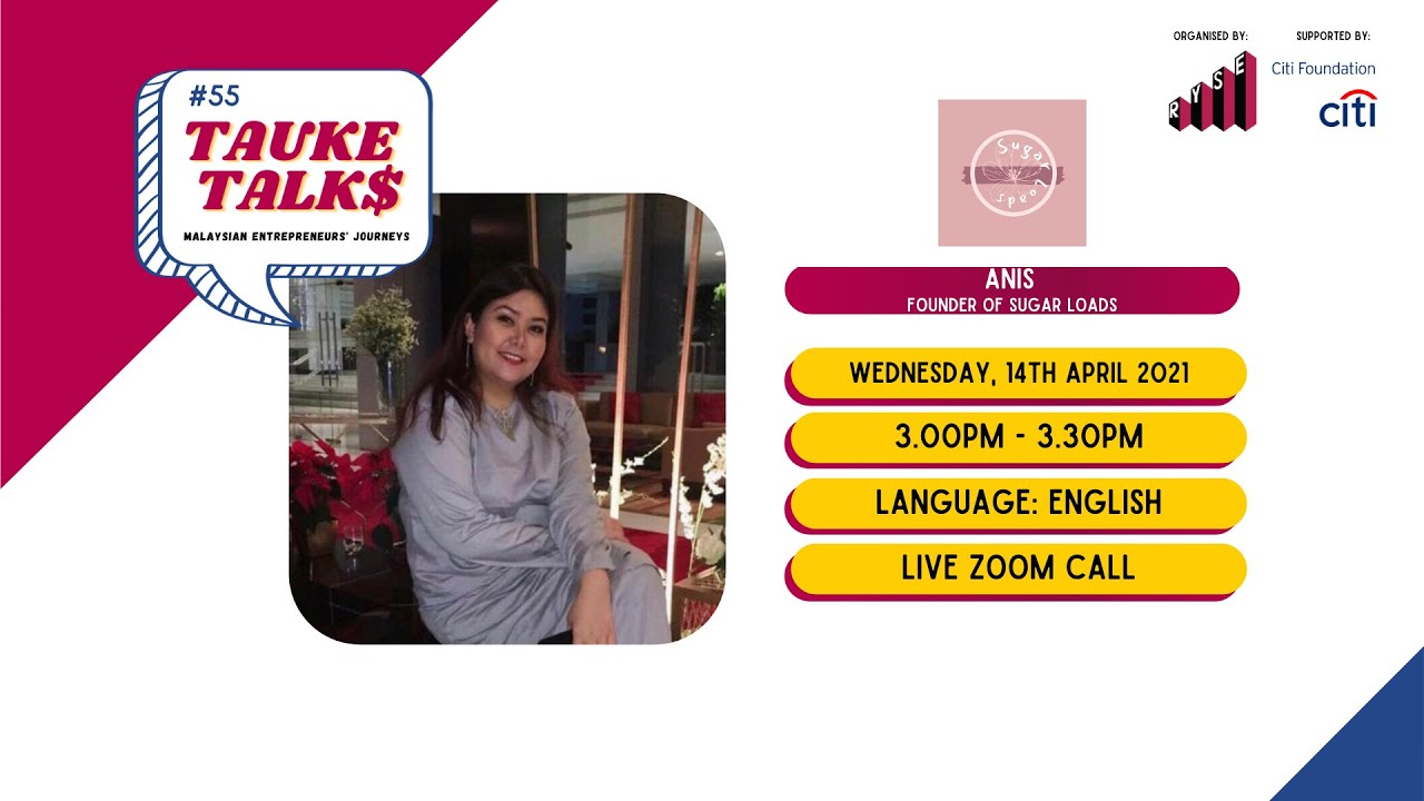 Download #55 Tauke Talks with Anis from Sugar Loads