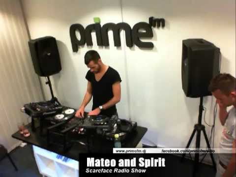 Prime FM live - Scareface Radio Show - Mateo and Spirit 2012.04.16.