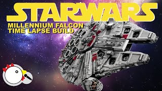 LEGO 10179 - UCS StarWars Millennium Falcon - Time Lapse Build with Stop Motion Finale - LEGO 75192