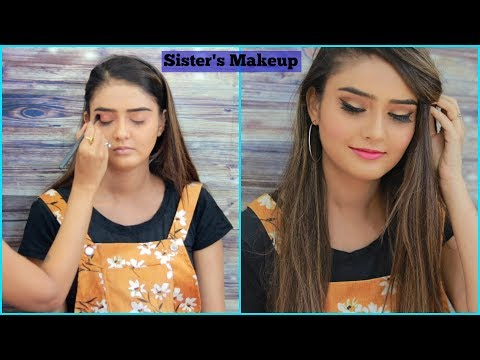 DOING MY SISTER'S MAKEUP | Rinkal Soni