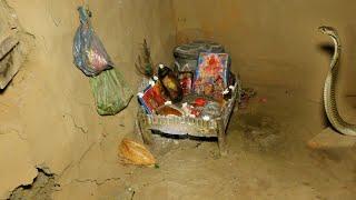 पूजा घर में खतरनाक नाग का कब्जा,पुकार इतनी तेज सुन आप के रोंगटे खडे होजाएगे।Angry Cobra in bedroom