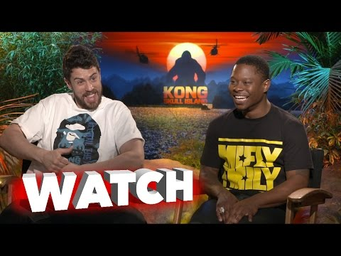 Kong Skull Island: Jason Mitchel and Toby Kebbell Exclusive Movie Interview