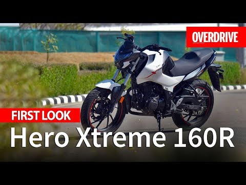 hero-xtreme-160r-first-look-|-specifications,-features-and-price-|-overdrive