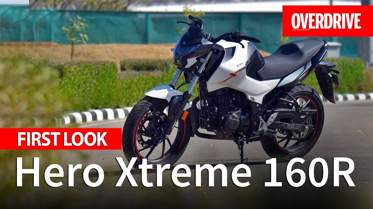 Hero Xtreme 160r First Look Specifications Features And Price