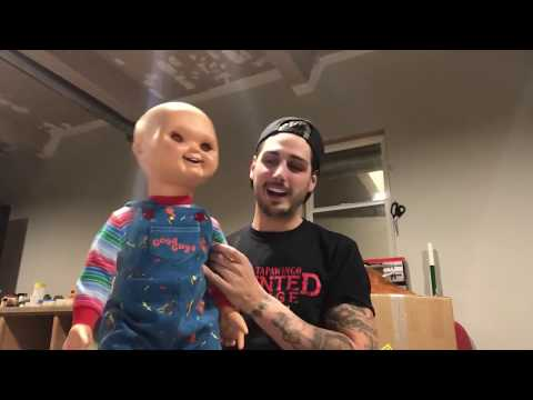 Trick or Treat Studios Good Guy Doll in person! Life-size Chucky Doll