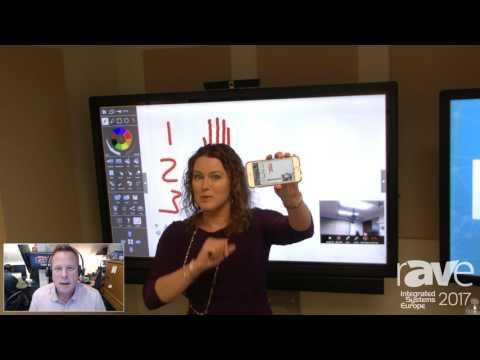 ISE 2017: InFocus Demos Mondopad in Real Time on rAVe RADIO