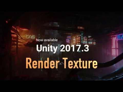 unity 2017 Render texture