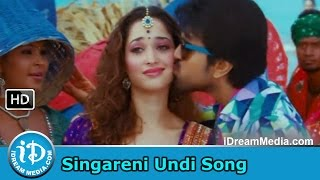Racha Movie Songs - Singareni Undi Song - Ram Charan - Tamanna - Mani Sharma Songs
