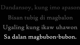 Filipino Lullaby - Dandansoy - Lolita Carbon (ASIN) + lyrics + Translation in Subs