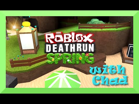 Roblox Deathrun Spring Run with Gamer Chad