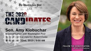 Sen. Amy Klobuchar talks about the issues driving her campaign in Post Live interview