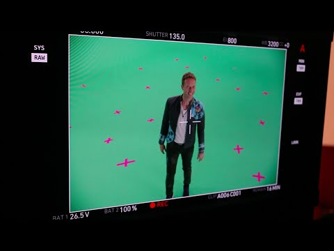 Coldplay - Up&Up (Behind the scenes)
