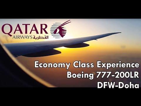 Qatar Airways Economy Class Experience 777-200LR