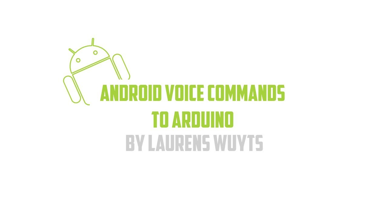 Android Voice Commands to Arduino: 6 Steps