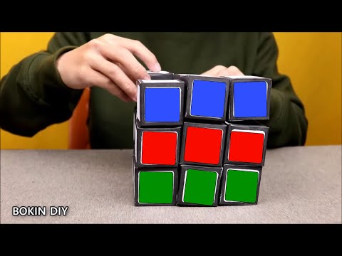 How To Make Giant Paper Rubik's Cube | DIY