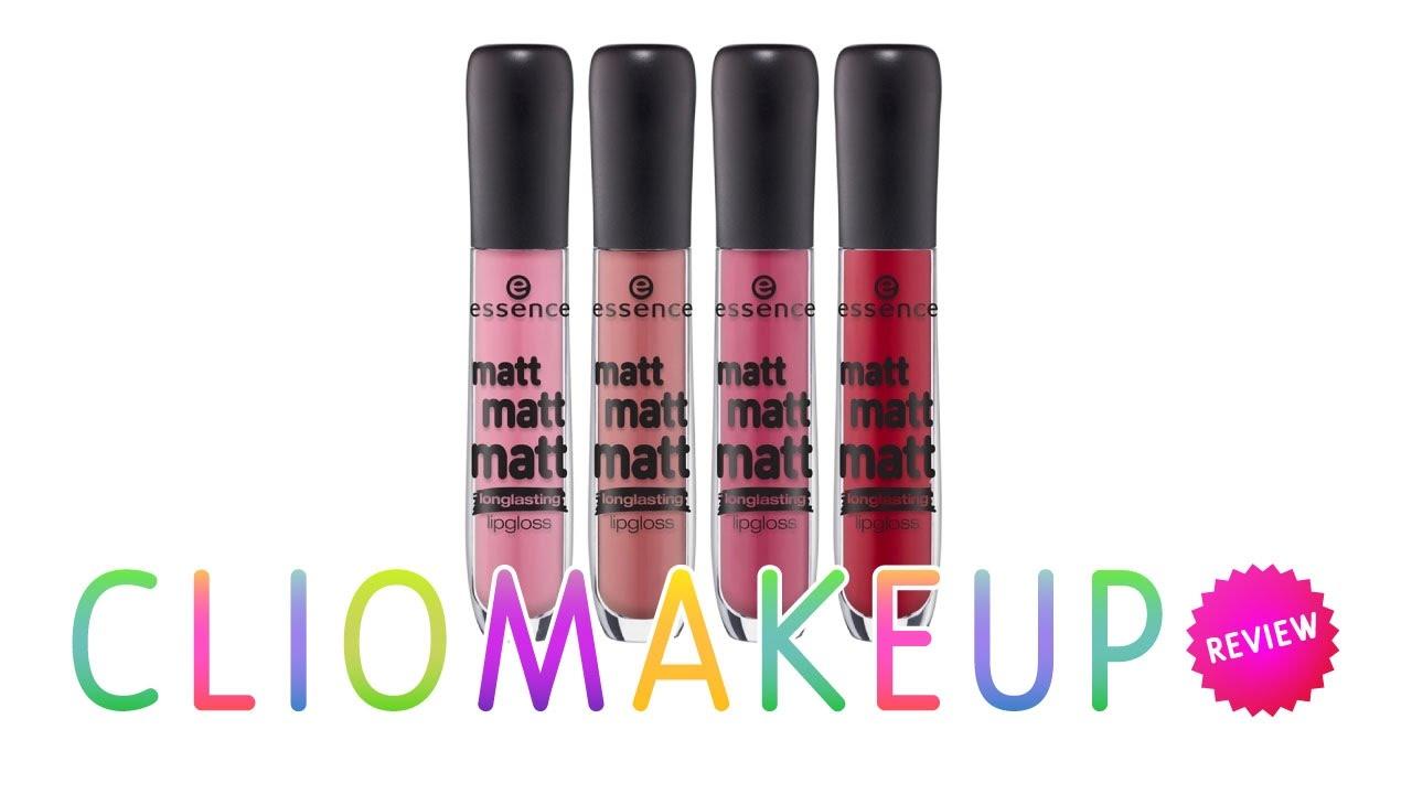 limited guantity cheaper better Recensione Essence Matt Matt Matt Lipgloss Review