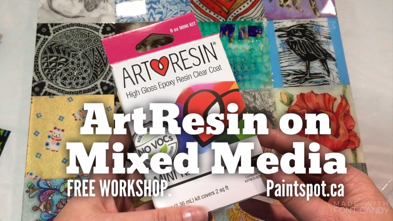 Art Resin - Clear Epoxy Varnish Sets - The Paint Spot