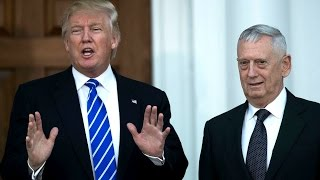 Trump chooses Mad Dog Mattis as Sec. of Defense HD