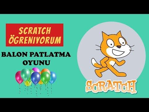 Balon Patlatma Oyunu  -  Scratch Öğreniyorum - (Uyg - 7)