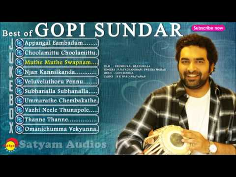 Best of Gopi Sundar | Malayalam Film Songs
