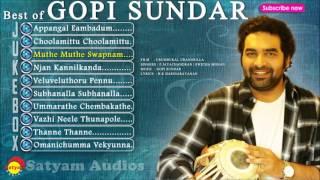 Best of Gopi Sundar   Malayalam Film Songs