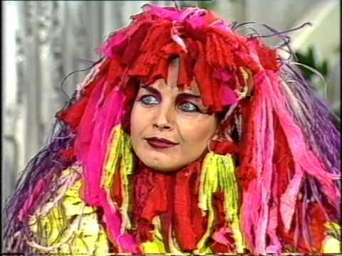 Lene Lovich - Don Lane Show 1983 - 'Lucky Number' live and interview