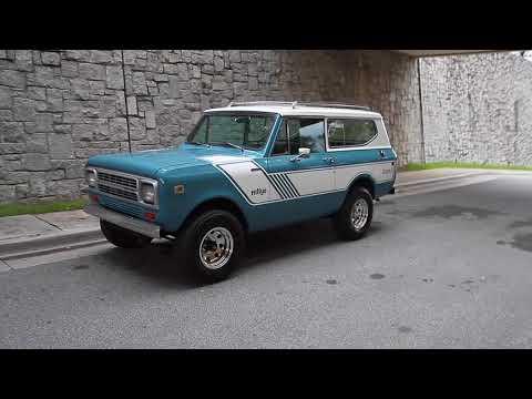 1980 International Harvester Scout II Turbo Diesel for sale 1