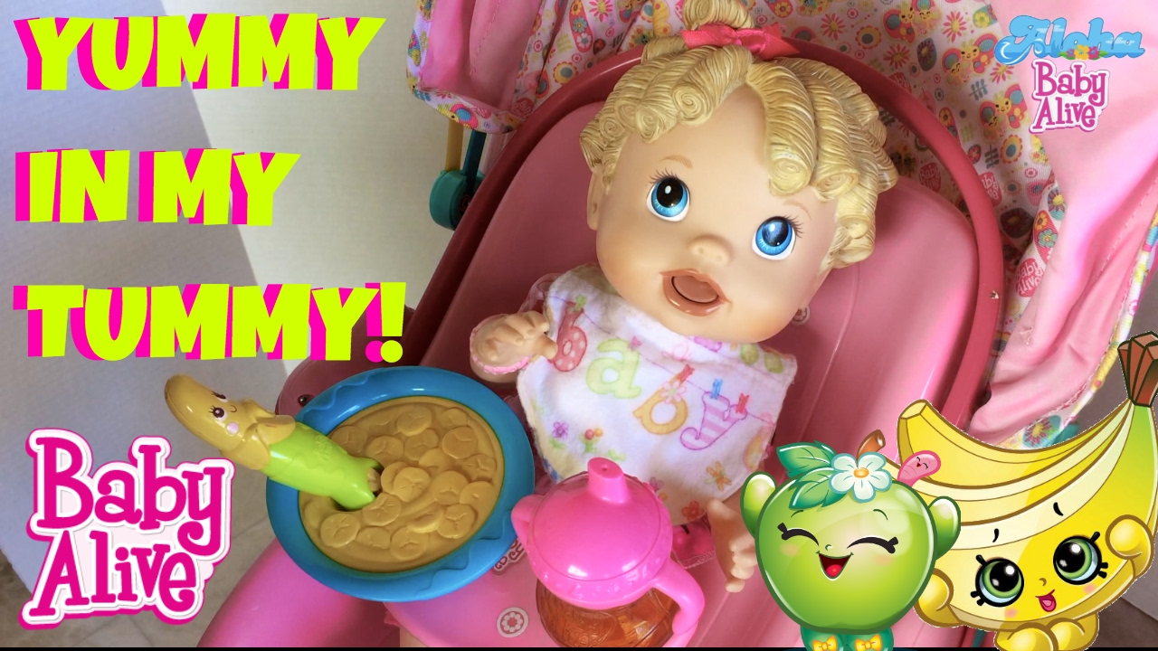 Baby Alive All Gone Doll Feeding Amp Changing With Skye