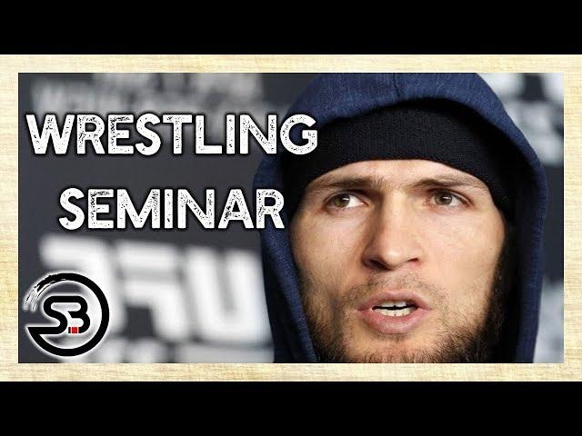 Khabib Wrestling Training with English Subtitles