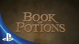 Wonderbook: Book of Potions - E3 Announce