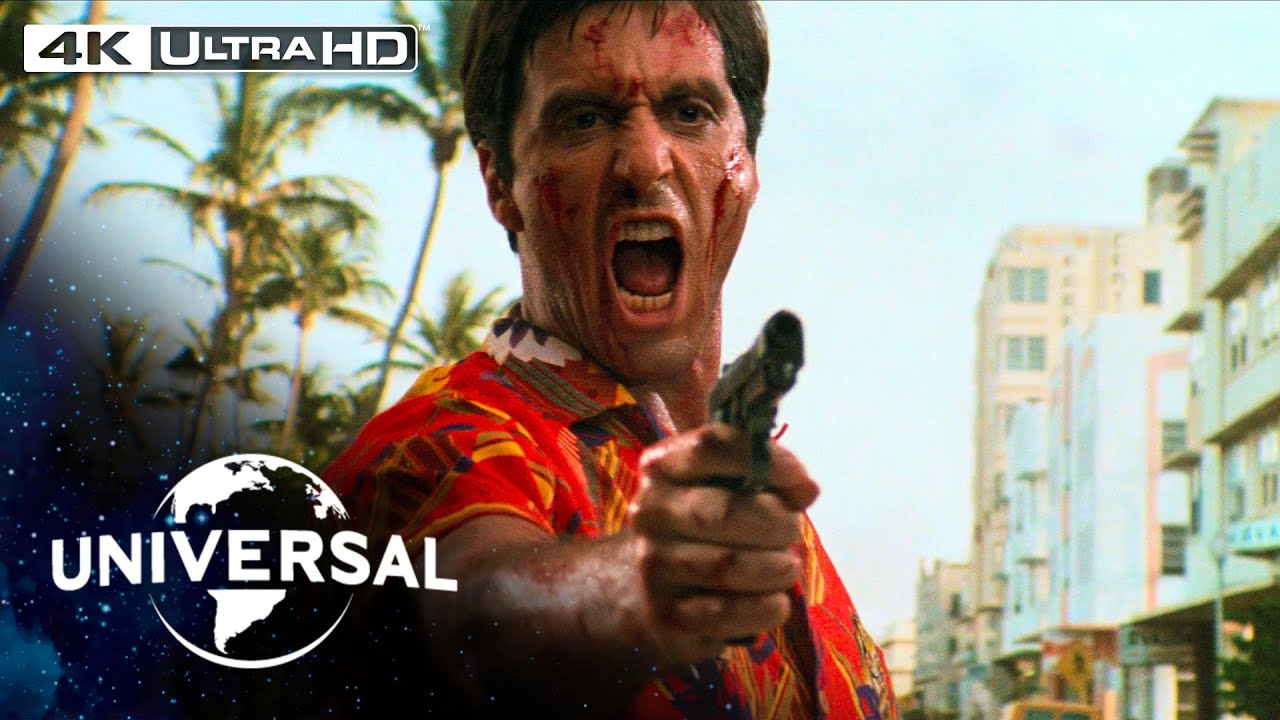 Download Scarface | Don't Bring a Chainsaw to a Gunfight Scene in 4K HDR