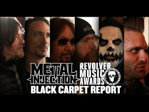 Revolver Music Awards Black Carpet Report 2016 | Metal Injection