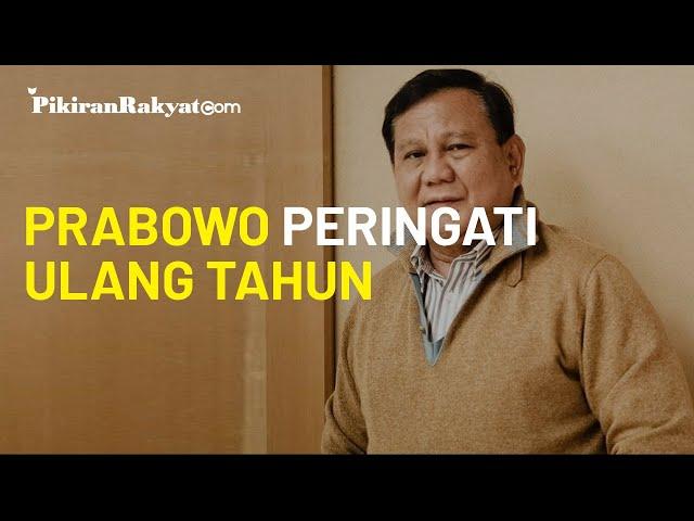 Peringati Ulang Tahun ke-69 di AS, Prabowo Subianto: Terima Kasih atas Doa dan Ucapan Tulus