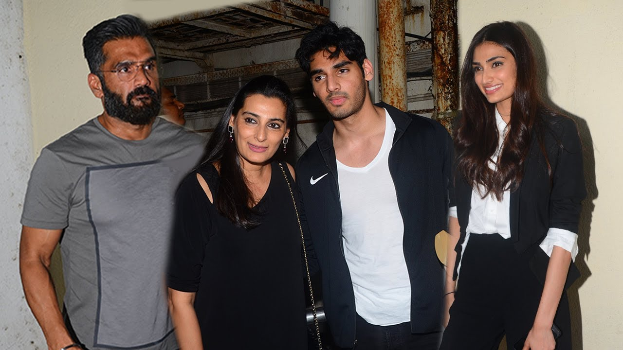 Son Age Suniel Shetty With Family: Son Aahaan,daughter Athiya