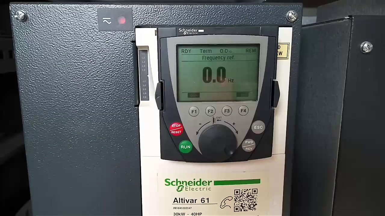 mengubah start mode motor drive schneider electric altivar 61 [ 1280 x 720 Pixel ]