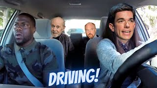 Comedians on DRIVING