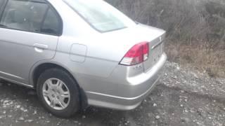 Видео-тест автомобиля Honda Civic Ferio (ES3, 2005, D17A, серый)