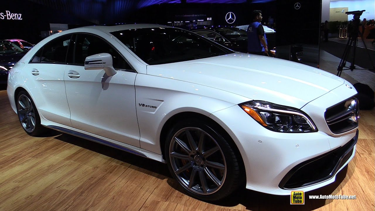2015 mercedes benz cls class cls63 s amg exterior and interior walkaround 2014 la auto show youtube - Mercedes Amg Cls63 2015