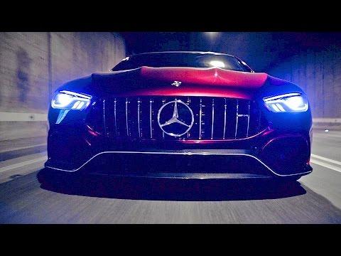 Mercedes-AMG GT sedan concept – Porsche Panamera Killer? [YOUCAR]