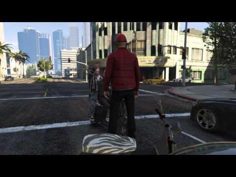 GTA Online: Scooter Attack [Rockstar Editor]