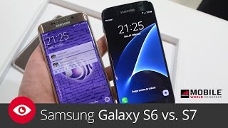 Samsung Galaxy S6 vs. S7 (MWC 2016)