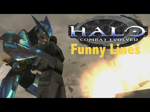 Lines of Halo CE + Extras (Funny Dialogue)