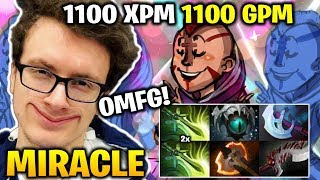 Miracle 1100 GPM 1100 XPM Anti-mage OMFG! FARMING MACHINE