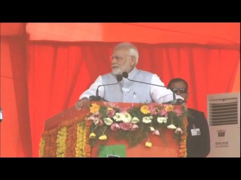 PM Shri Narendra Modi addresses public meeting in Mahbubnagar, Telangana : 27.11.2018