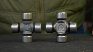 ОСТОРОЖНО ПОДДЕЛКА! Крестовина карданного вала ВАЗ 2105 (усиленная) – отличия