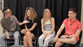 The Permanent Rain Press Interview with the Cast of Backstage