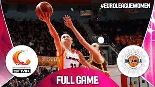 UMMC Ekaterinburg v Nadezhda - Full Game - EuroLeague Women 2018-19