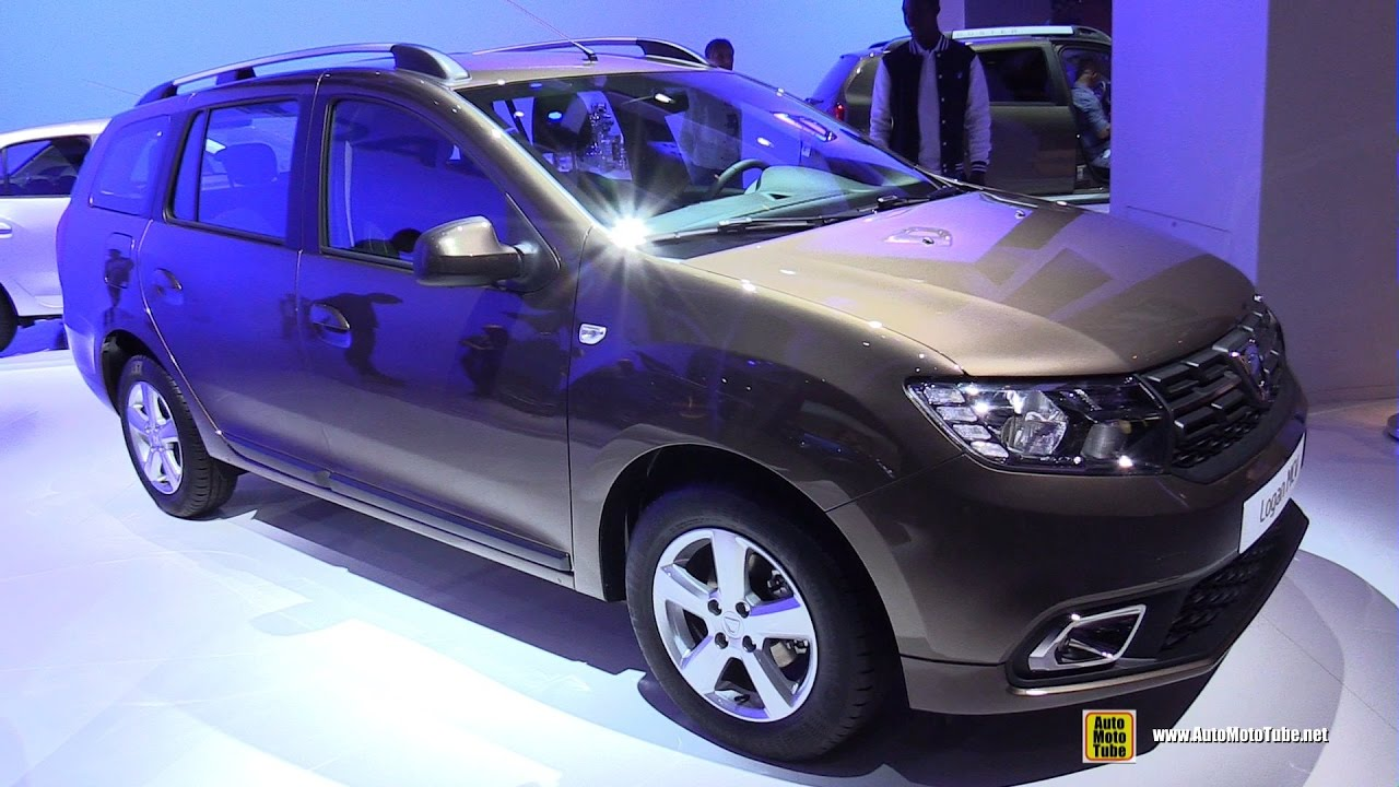 2017 dacia logan mcv exterior and interior walkaround 2016 paris motor show youtube. Black Bedroom Furniture Sets. Home Design Ideas